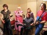 Soirée pendaison crémaillère Band Hero/Guitar Hero. Vidéo 4.