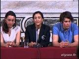 Conférence de presse d'Ingrid Betancourt