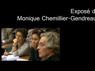 extrait 1 conférence Monique Chemillier-Gendreau. AGTER 2009