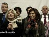 Françoise Grossetête inaugure son local en Rhône-Alpes (UMP)