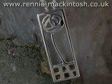 Sterling silver Charles Rennie Mackintosh necklace DWO227
