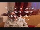 """""""Le YEMEN"""" Entretien avec M. KHATTAR ABOU DIAB - 1ère Partie"""