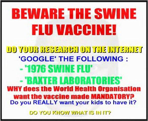 Supressed News Report On Swine Flu Scam