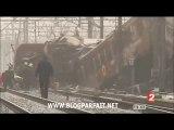 ACCIDENT TRAINS BELGIQUE COLLISION MON BRUXELLES FRANCE2 BLO