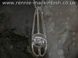 Sterling silver Charles Rennie Mackintosh necklace DWA265