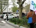 CRS vs. étudiants - Grenoble (10.04.2008)
