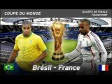 FRANCE VS BRESIL COUPE DU MONDE 2006