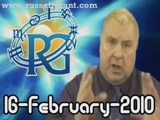 RussellGrant.com Video Horoscope Pisces February Tuesday 16t