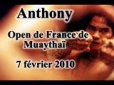 Anthony Open France fevrier 2010