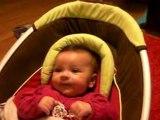 bebe fou rire : lyna lou