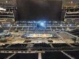 NBA All Star için dev salon böyle hazırlandı