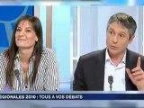 Pascal MONIER-débat-FR3-Poitou-Charentes-régionales 2010
