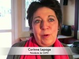 Corinne Lepage soutient Europe Ecologie Languedoc-Roussillon
