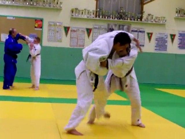 Judo: combat  Thomas vs lolo