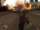 GTA San Andreas - CJ vs Ballas (Guerre des gangs)