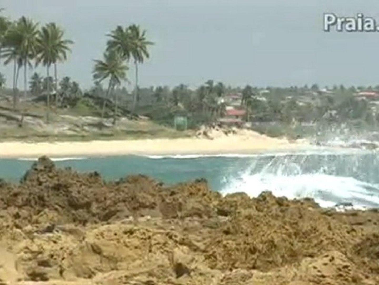 Praia de Coqueirinho litoral Nordeste do Brasil Paraíba