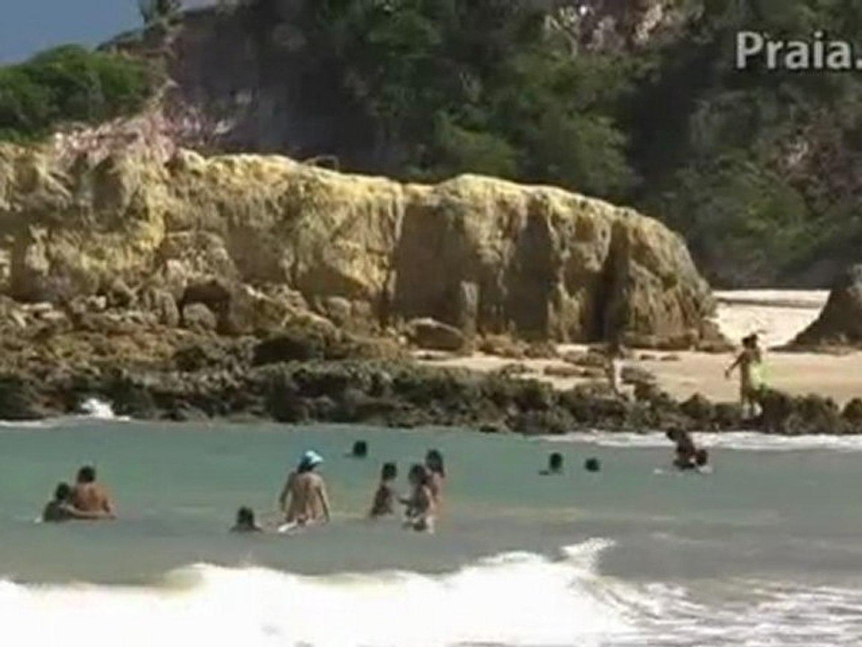 Praia de Tabatinga, Paraíba Nordeste do Brasil