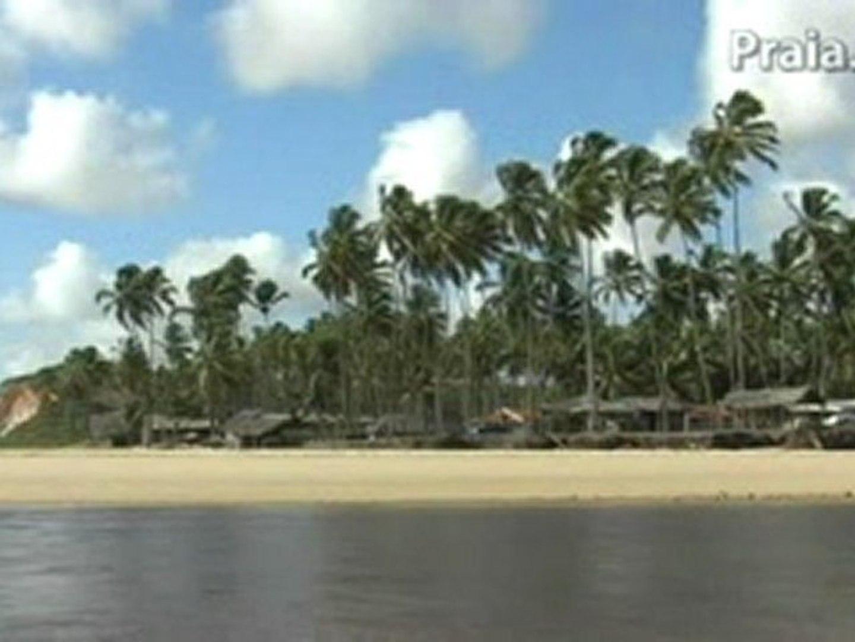 Praia da Barra do Gramame João Pessoa Nordeste do Brasil