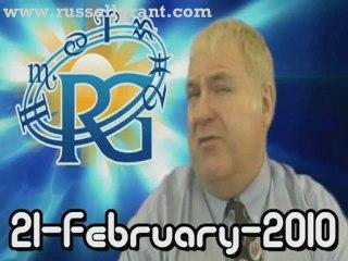 RussellGrant.com Video Horoscope Sagittarius February Sunday