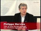 Régionales Bourgogne 2010 : Europe Ecologie