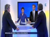 Partie 2; Tous à vos débats; FR3 Bretagne; Régionales 2010