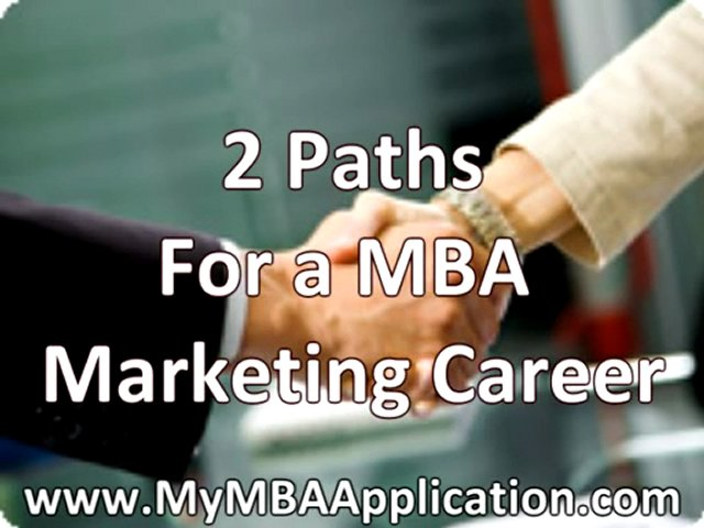 MBA Marketing Career – Typical Career Paths