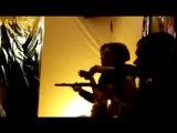 Soirée lectures musicales du 3 mars 2010 au gazoline