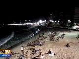 Des bains de minuit au Brésil