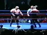 The Road Warriors vs King Kong Bundy & Jerry Blackwell (1/2)