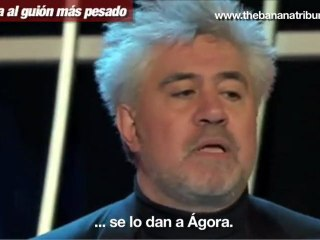 Almodóvar, Goya al guión más pesado