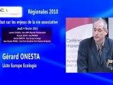 Débat en Midi-Pyrénées : Gérard ONESTA pour Europe Ecologie