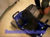 Portable 4 wheels Mobility Scooters wheel Chair Elderly dis