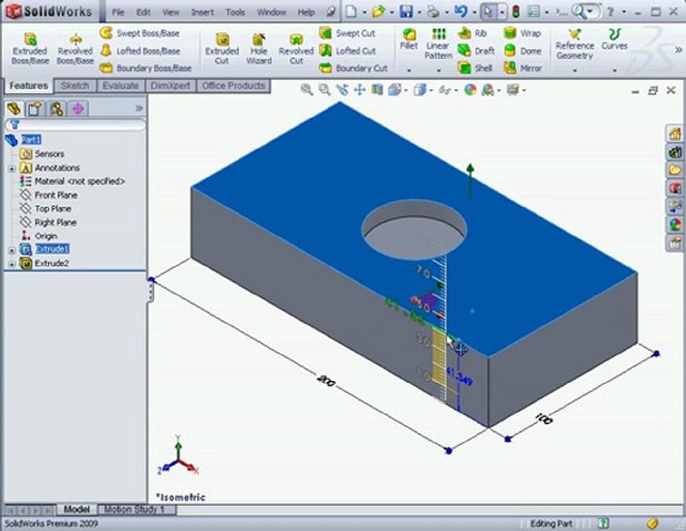 SolidWorks Tutorials Parametric Modeling