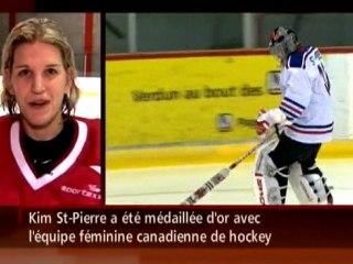 Kim St-Pierre, la gardienne du Canadien!