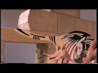 A la découverte du Mur / oeuvre de l'artiste Alain AZAD
