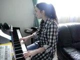 Petit morceau au piano  par zazou