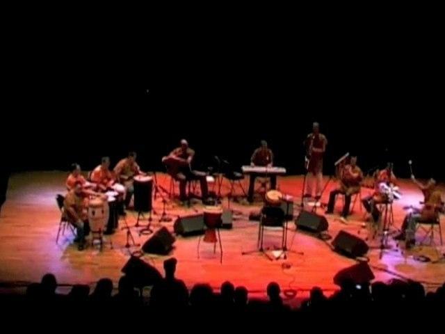 MEDINA - concert TERANGA (Flûte Peule: MIchael Bougon)