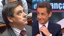 Chomage: Sarkozy et Fillon se contredisent