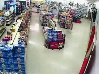 Cede il Pavimento Nel Supermercato