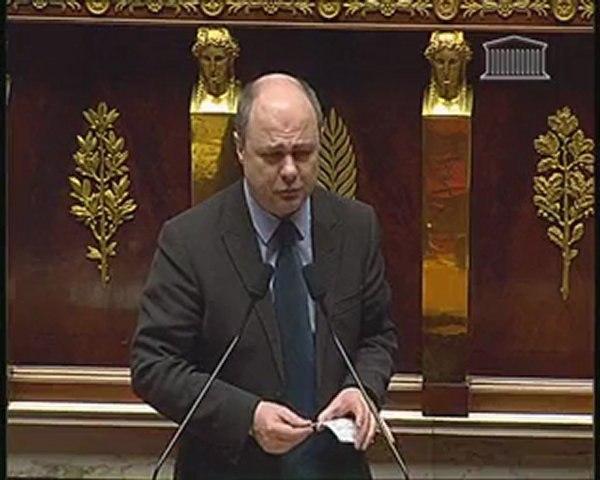 Bruno Le Roux Sécurité Projet de loi LOPPSI 10 février 2010