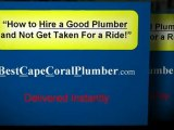 Cape Coral Plumber, Cape Coral Plumbers, Plumbing Services