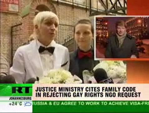 Russian Ministry of Justice refused Marriage Equality