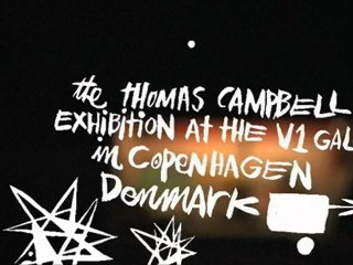 On the Road to the Thomas Campbell Exhibition at the V1