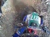 caméra embarquée en quad