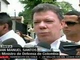Colombia: Santos dice contar con aval de Uribe