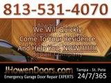 Garage Door Repair Company Tampa FL