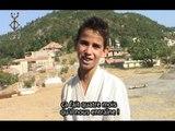 karaté au village d'aït aicha avec le maître Mohand Saïd