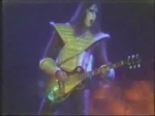 Ace Frehley and Kiss Shock Me (sound matches video)