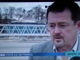 Pollution de la Seine - FR3 - 25 février 2010