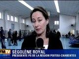 """S. Royal : """"C'est un moment très dur"""""""